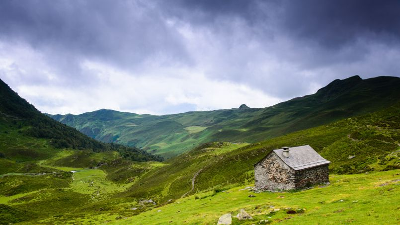 Vue du massif de la Vanoise, en Savoie. Crédit photo: Wikimédia