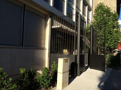 Les lycées seront sécurisés (ici une grille installée cet été à Notre-Dame de la Providence à Vincennes).