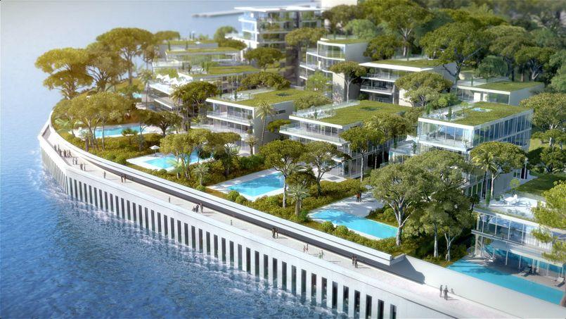 Monaco Va Gagner 6 Hectares De Luxe Sur La Mer