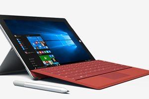 Le Surface 3 de Microsoft, mi-tablette, mi-ordinateur.