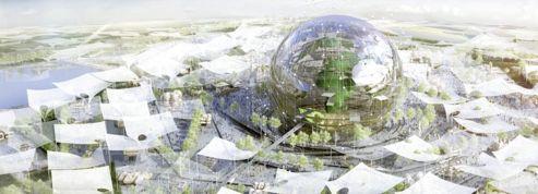 Un globe géant pour l'Exposition Universelle de 2025