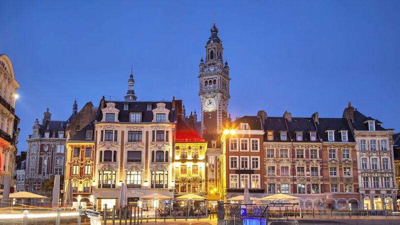 Ce mois-ci focus sur Lille où les prix se négocient de 3,6% en moyenne.