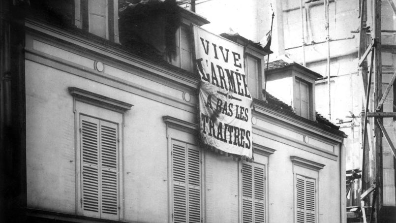Le bâtiment où s'est réfugiée la Ligue antisémite, assiégé par la police pendant 40 jours.
