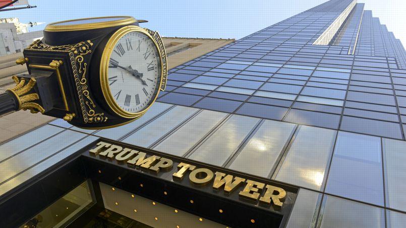 La Trump Tower, à New York, emblème du magnat de l'immobilier. Crédit: Robert Cicchetti / Shutterstock.com