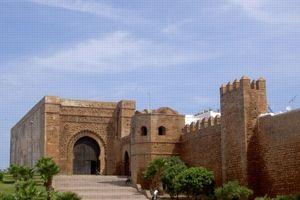 La kasbah des Oudayas. ©Wikipedia
