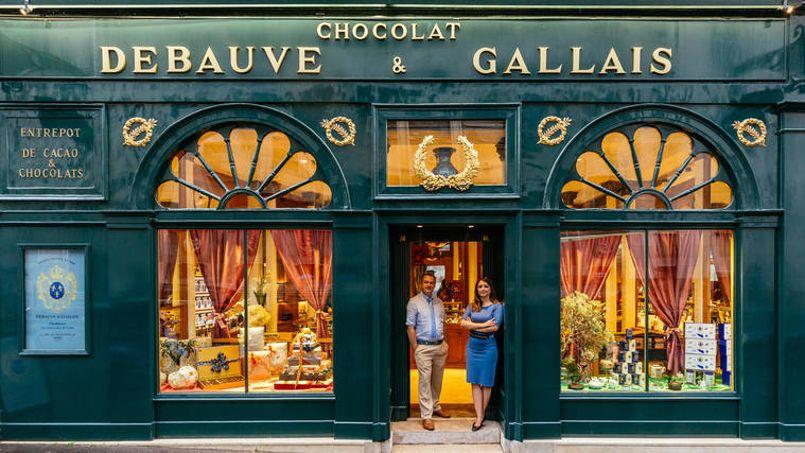 À Saint-Germain-des-Prés, au milieu de la rue des Saints-Pères, Debauve et Gallais fut le fournisseur officiel des anciens Rois de France. Crédit: Sébastien Erras.