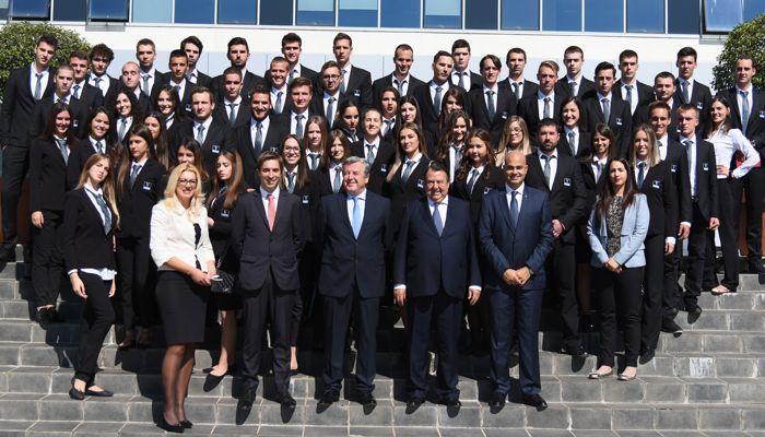 La rentrée des 70 nouveaux étudiants sur le campus de Vatel Monténégro. ©Vatel