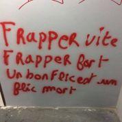 Tags antipolice à Panthéon-Sorbonne: une étudiante interpellée