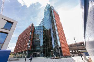 Le nouveau campus de l'Imperial College dans le quartier de la White City, à Londres.