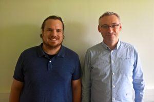 Nicolas Dubois et Christophe Morin, les enseignants à l'origine de l'initiative.