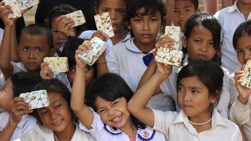 Certains jeunes n'ont jamais vu de savon de leur vie. ©ecosoapbank.org