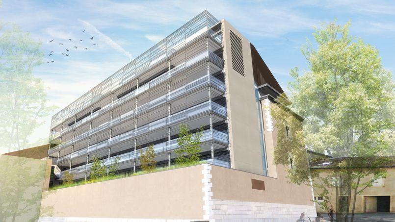 l ancienne prison de bourg en bresse accueillera 30 logements. Black Bedroom Furniture Sets. Home Design Ideas