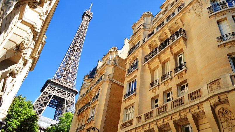 Photo d'illustration de façades d'immeubles à Paris.
