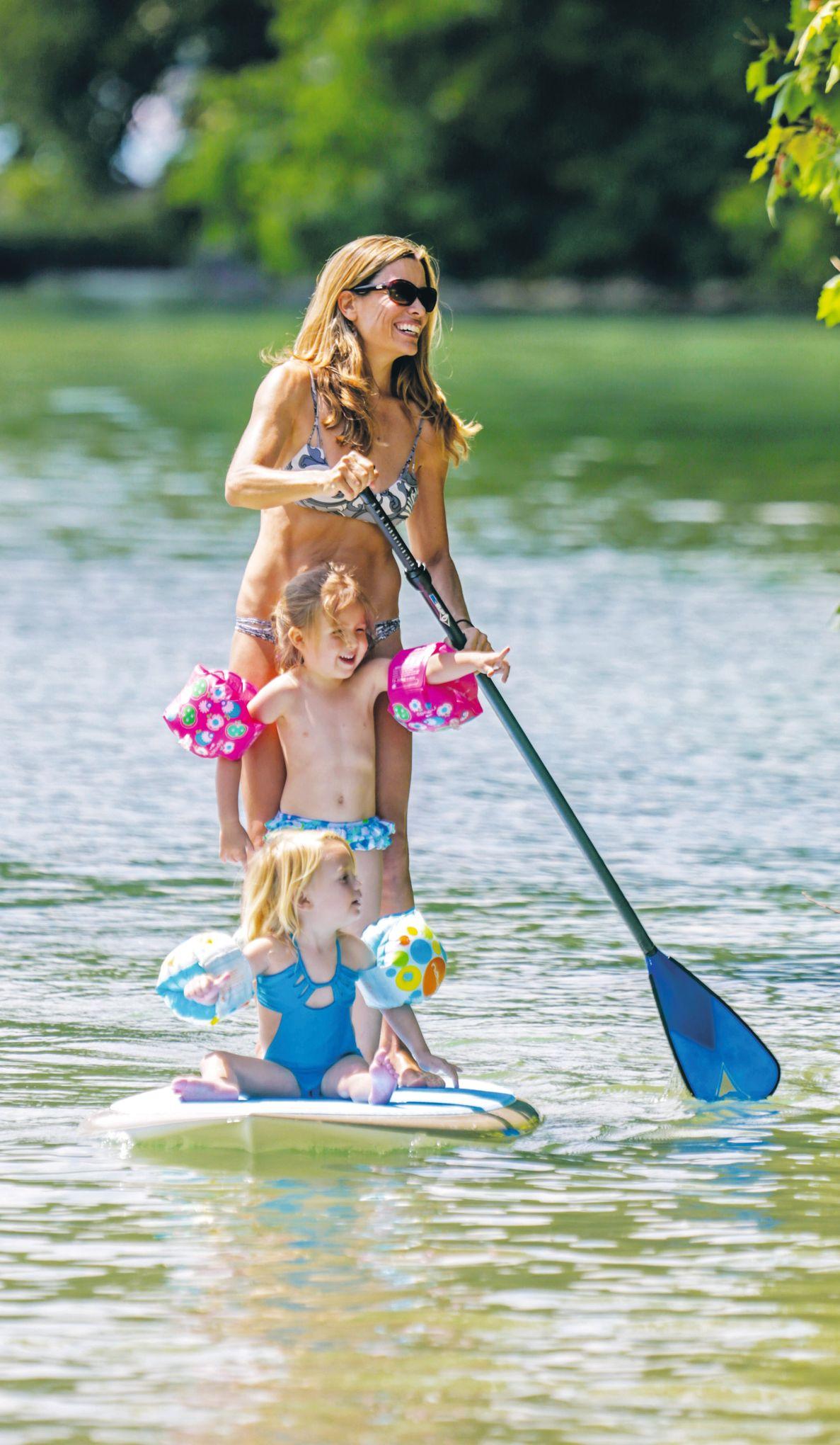 Une planche dans un sac : Stand up paddle gonflables