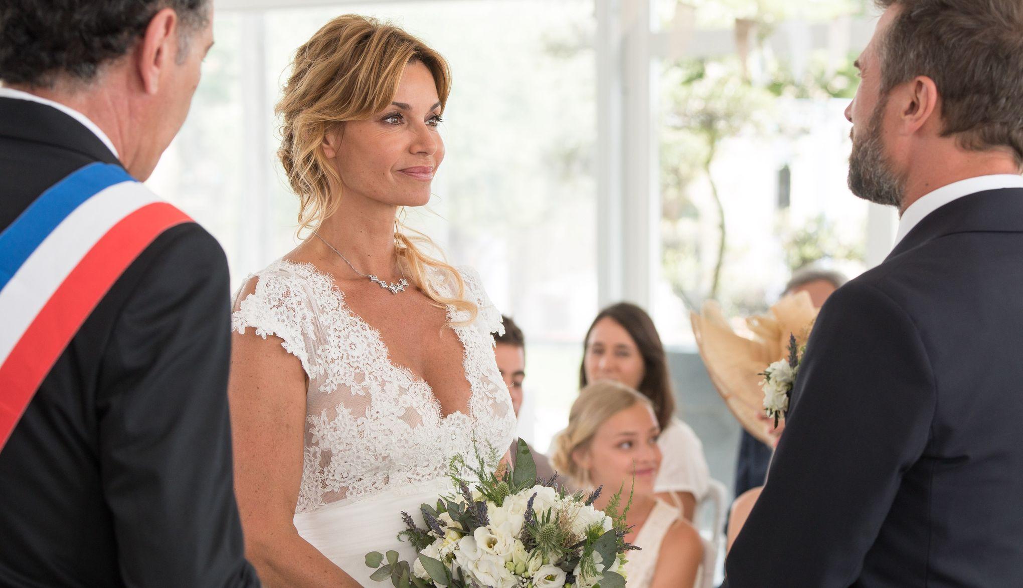 Ingrid Chauvin se marie dans Demain nous appartient  «C\u0027est notre plus  beau souvenir de tournage»