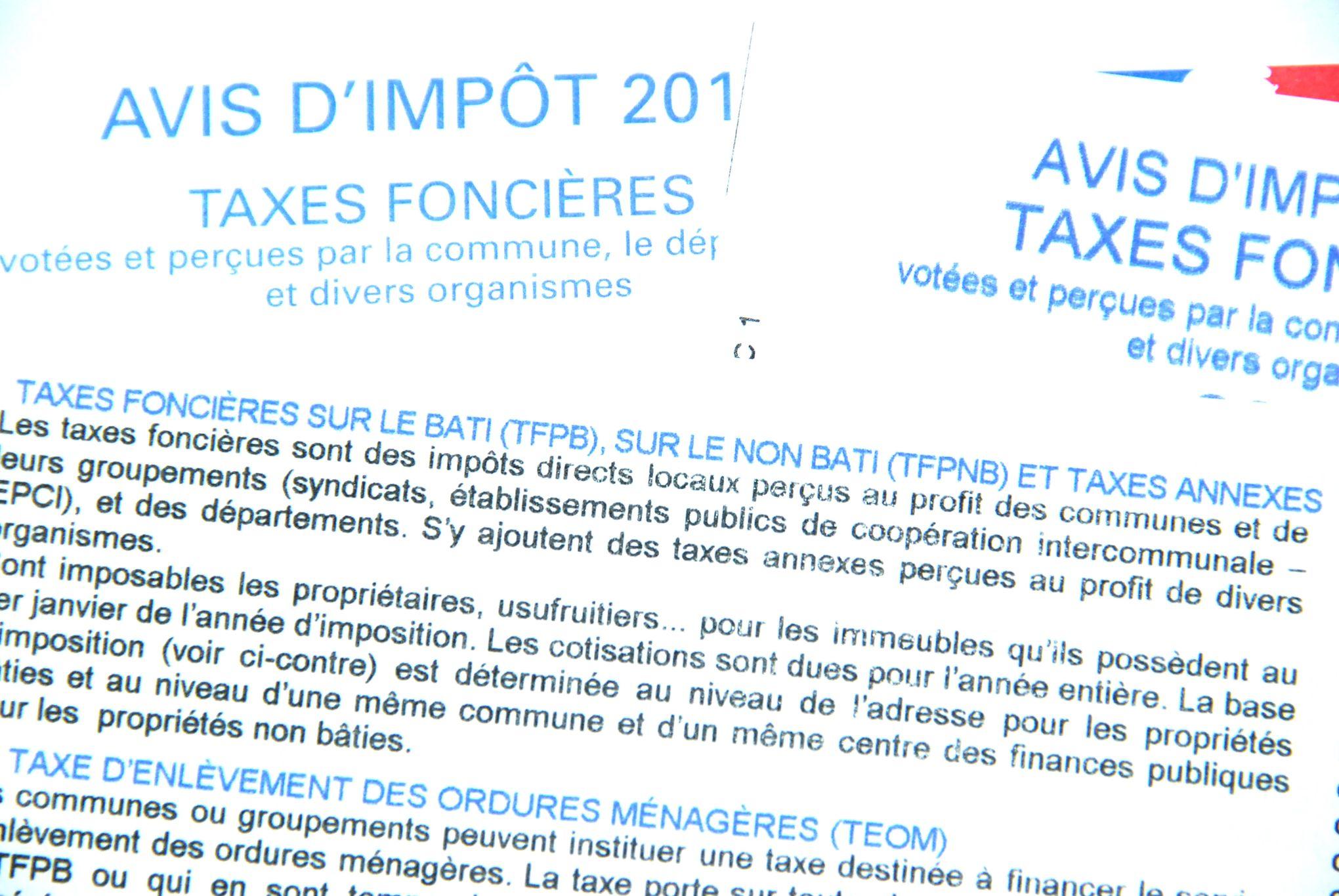 Derniers jours pour payer la taxe foncière 2018