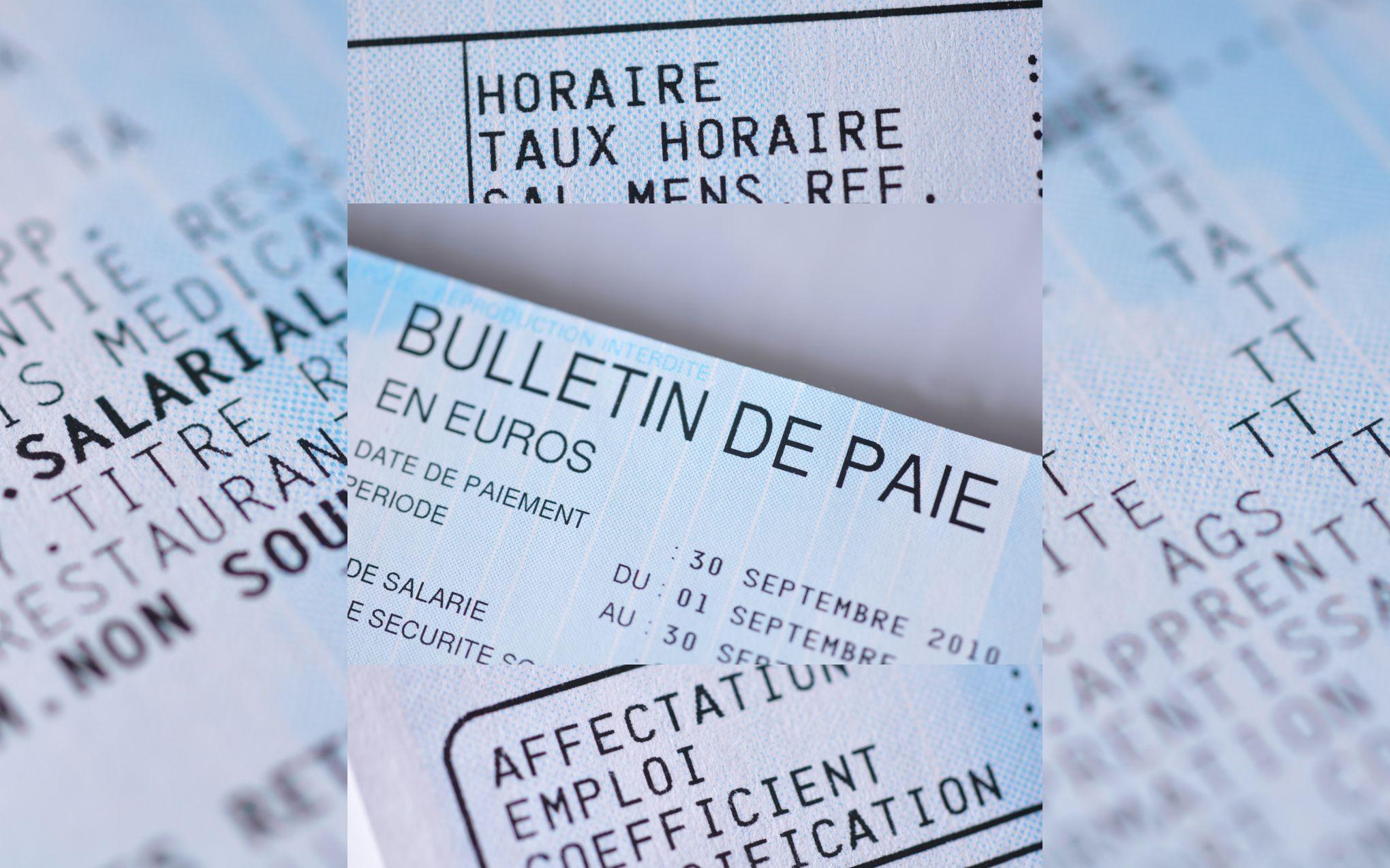 Sur le bulletin de paie, le salaire net avant impôt sera écrit en gros caractères