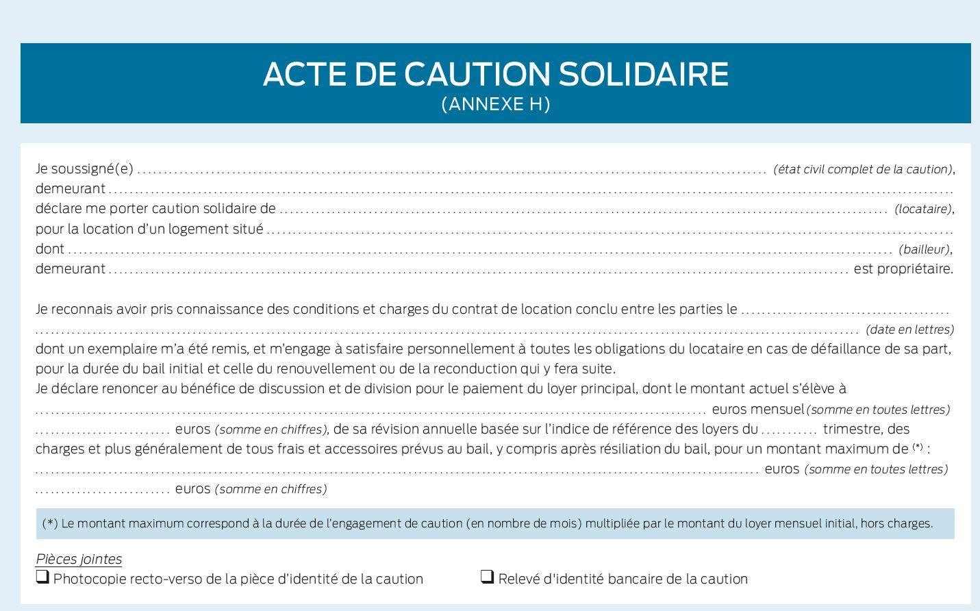 Location Fin De La Mention Manuscrite Pour L Acte De Caution