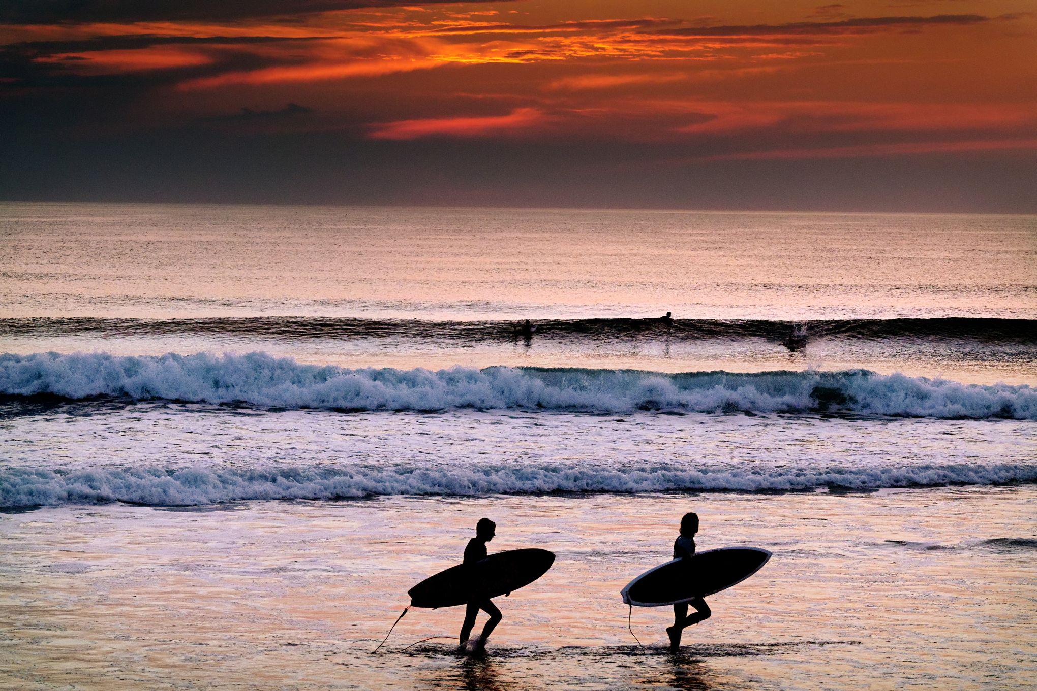 Hossegor, Capbreton... Le meilleur des vagues en automne
