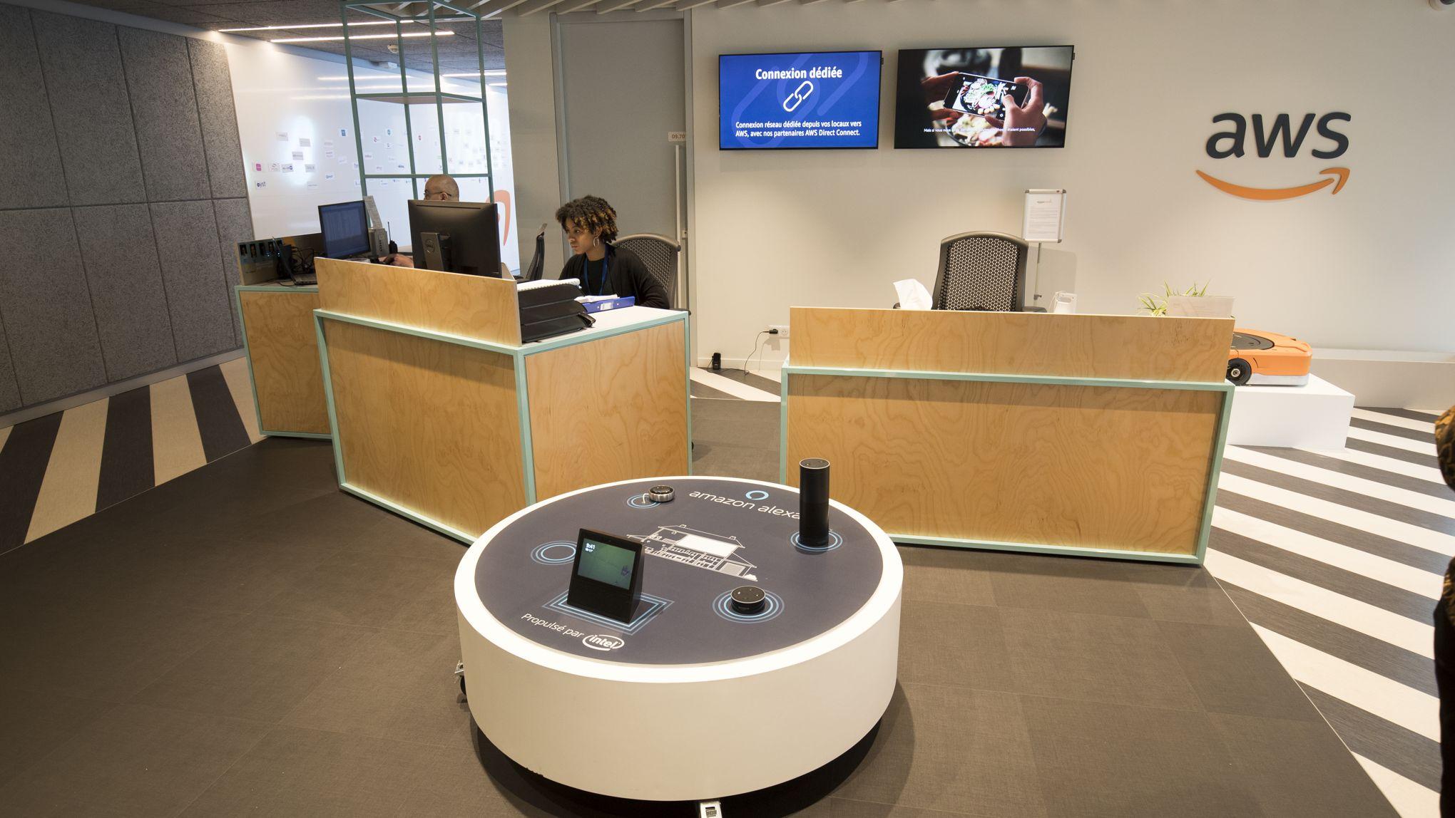 nouvelles promotions dernières conceptions diversifiées profiter du meilleur prix Visite chez Amazon: les bureaux derrière les entrepôts