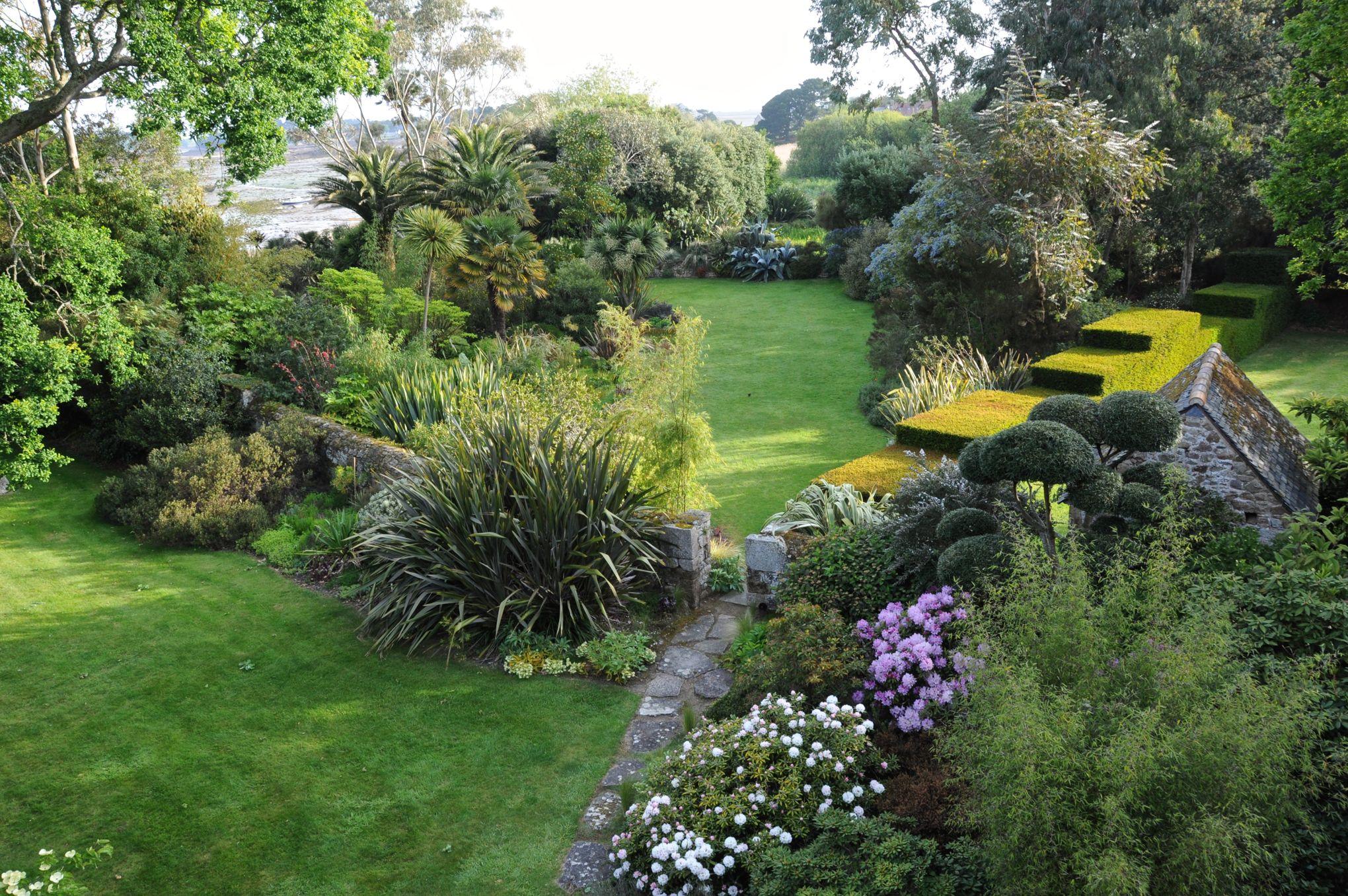 Photo Petit Jardin Exotique dans l'eldorado botanique du jardin de pellinec