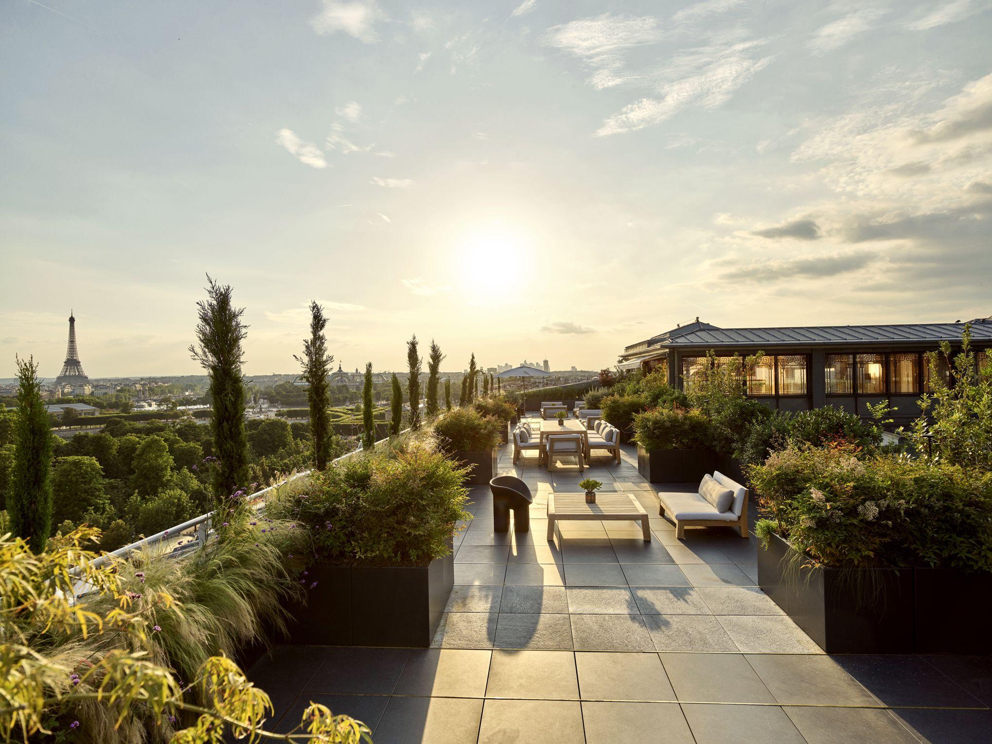 Dans le jardin secret des suites de luxe