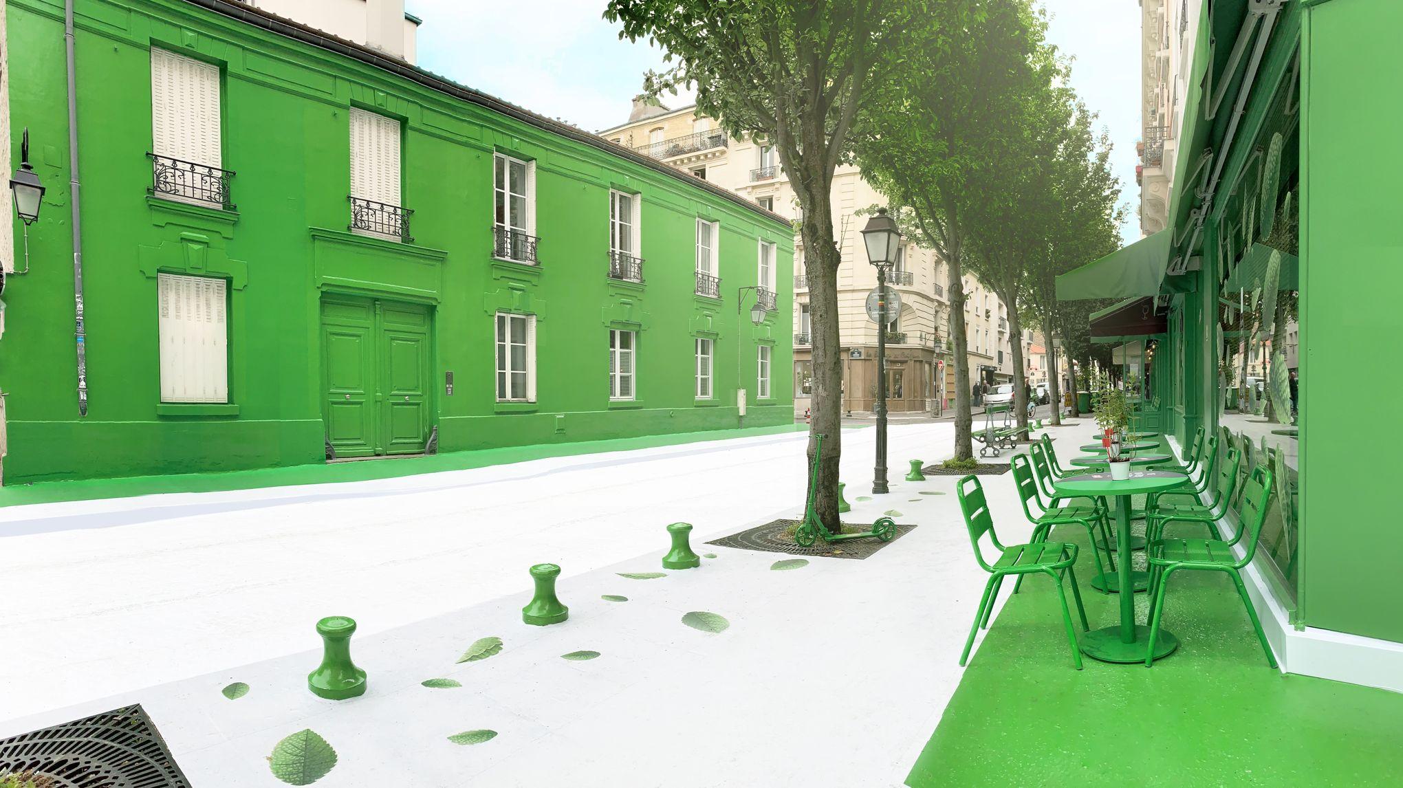 La Butte Aux Cailles Photos paris: la butte-aux-cailles en vert jusqu'à dimanche