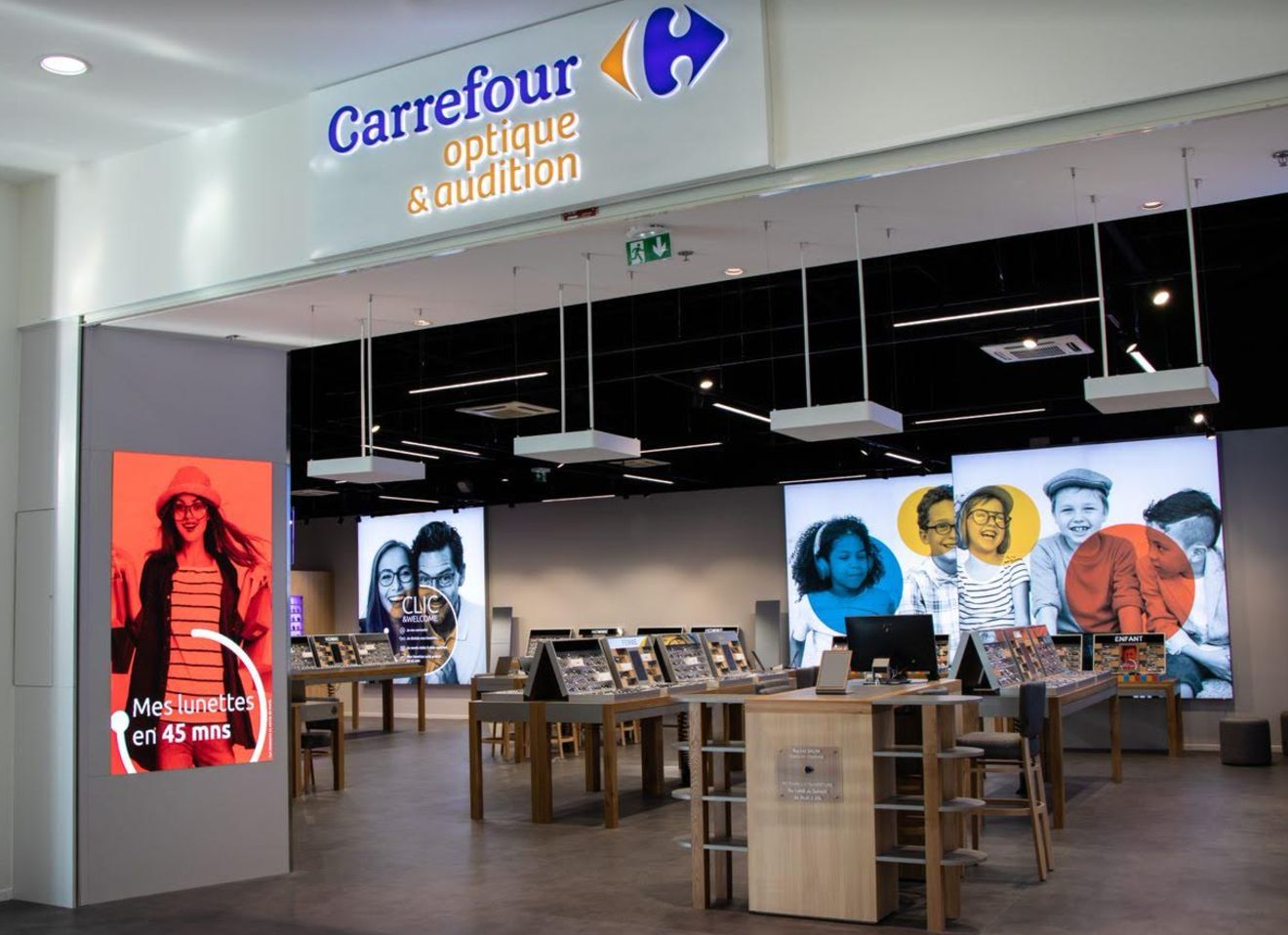 meilleur site web 21040 000b5 Carrefour revient dans la vente de lunettes avec Atol