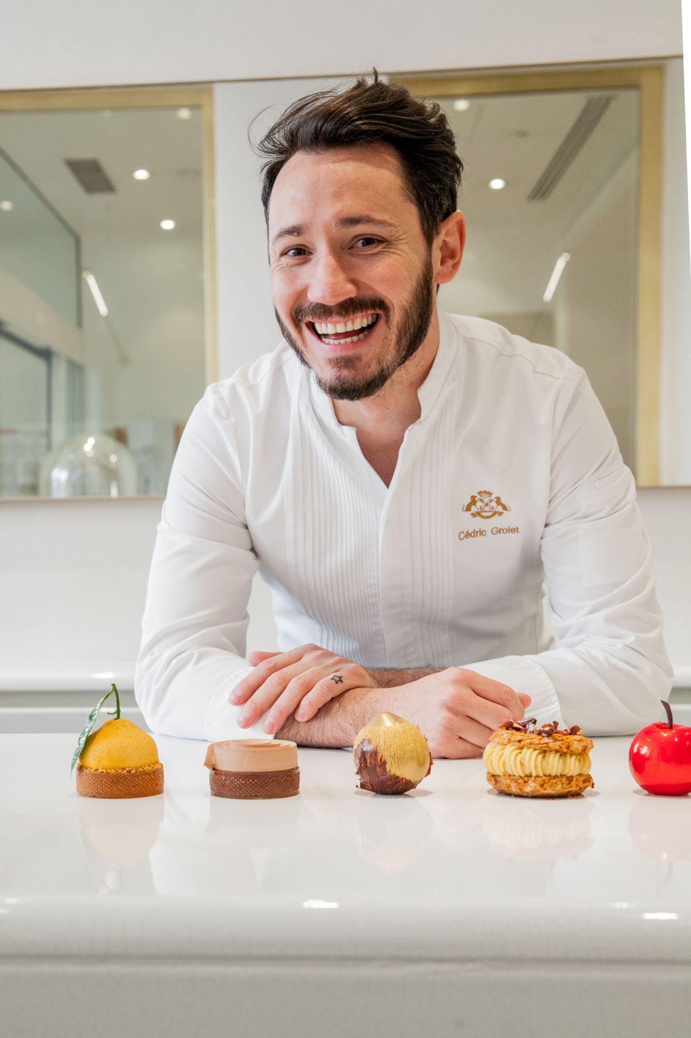 Cédric Grolet va ouvrir sa boulangerie,pâtisserie à Paris