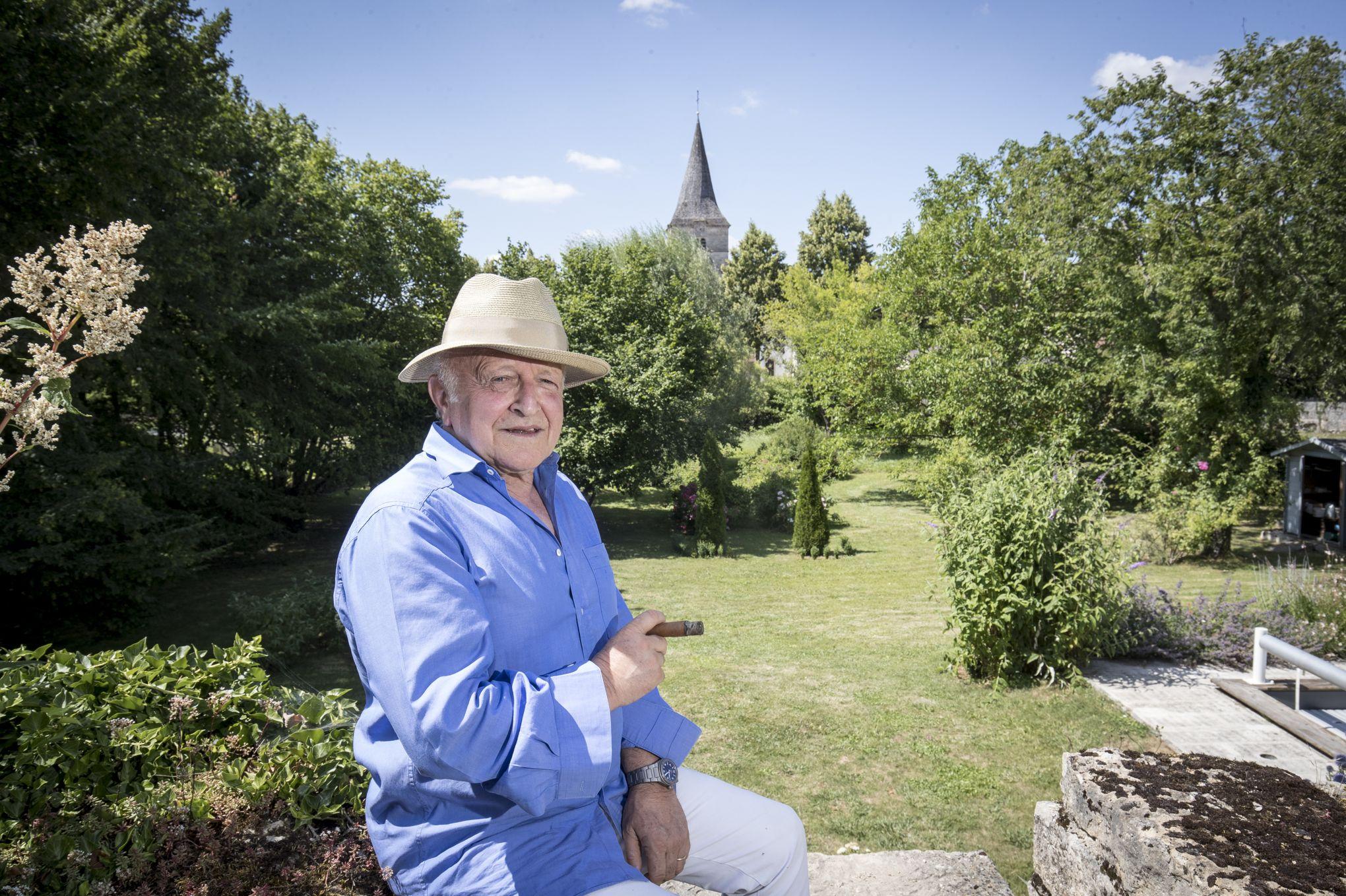 Bertrand Lavier: «Il y a une pensée dans le jardin, une autorité qui doit se traduire par un geste»