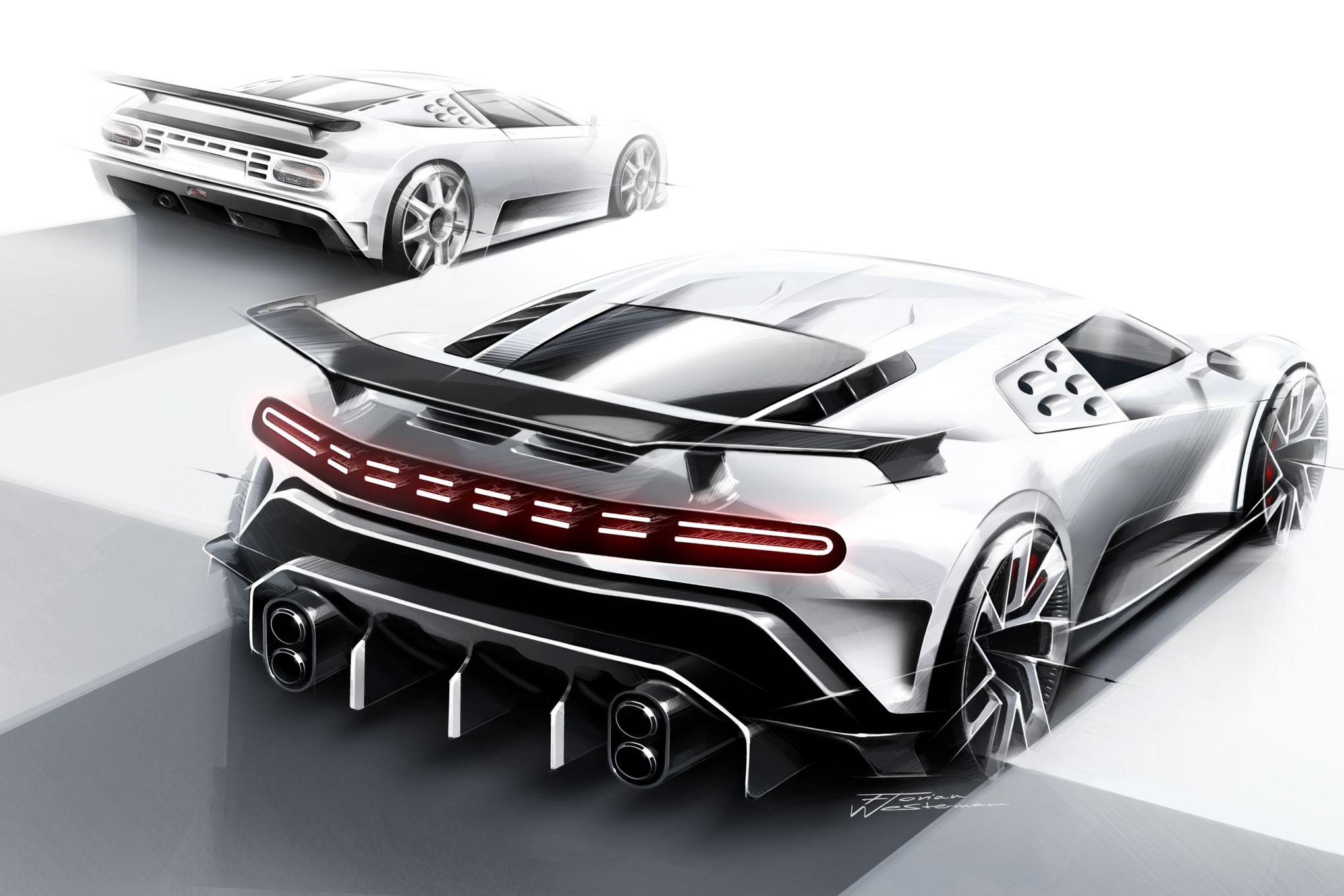 Bugatti Centodieci La Supercar Hommage