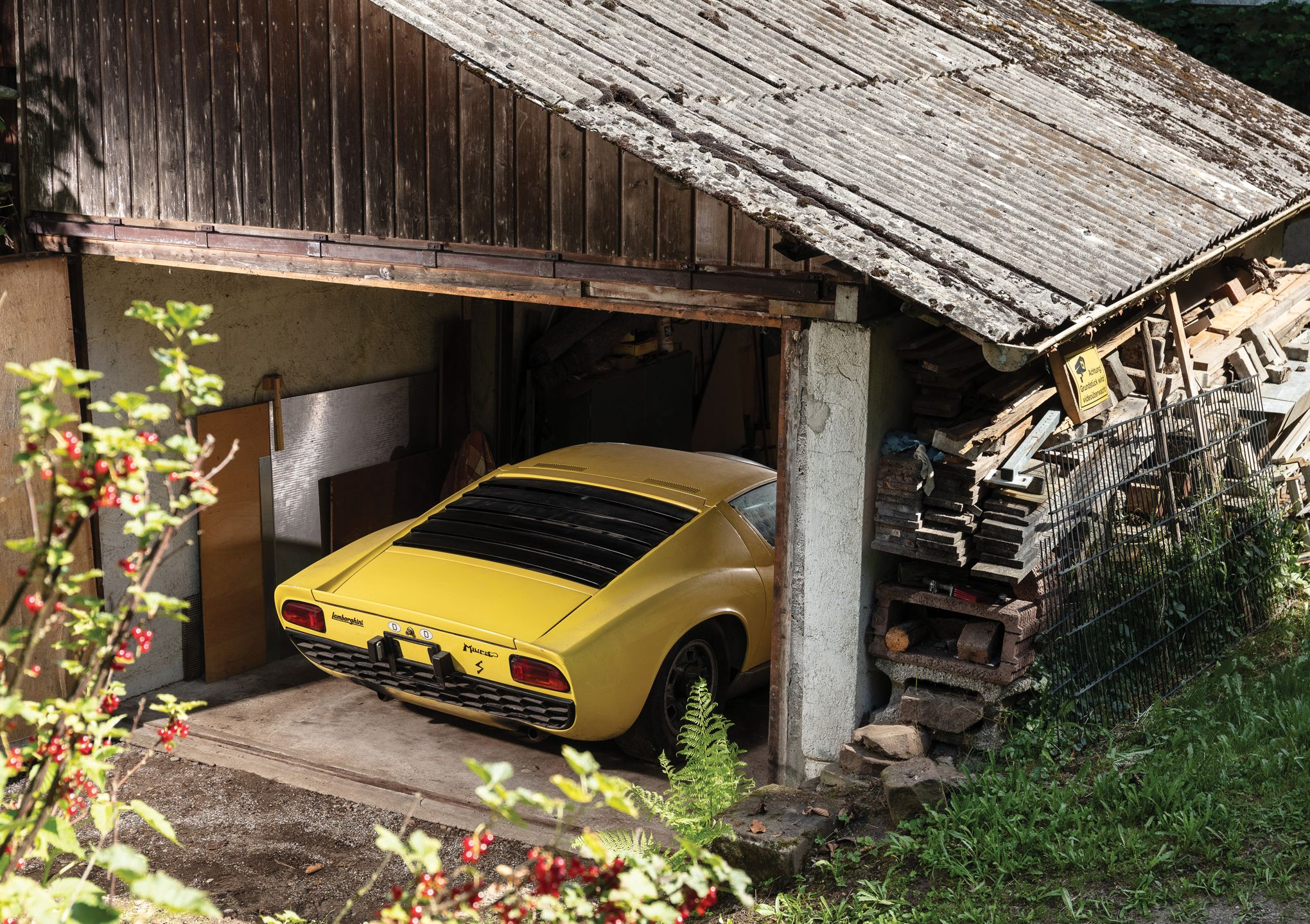Lamborghini Miura S, une sortie de grange aux enchères