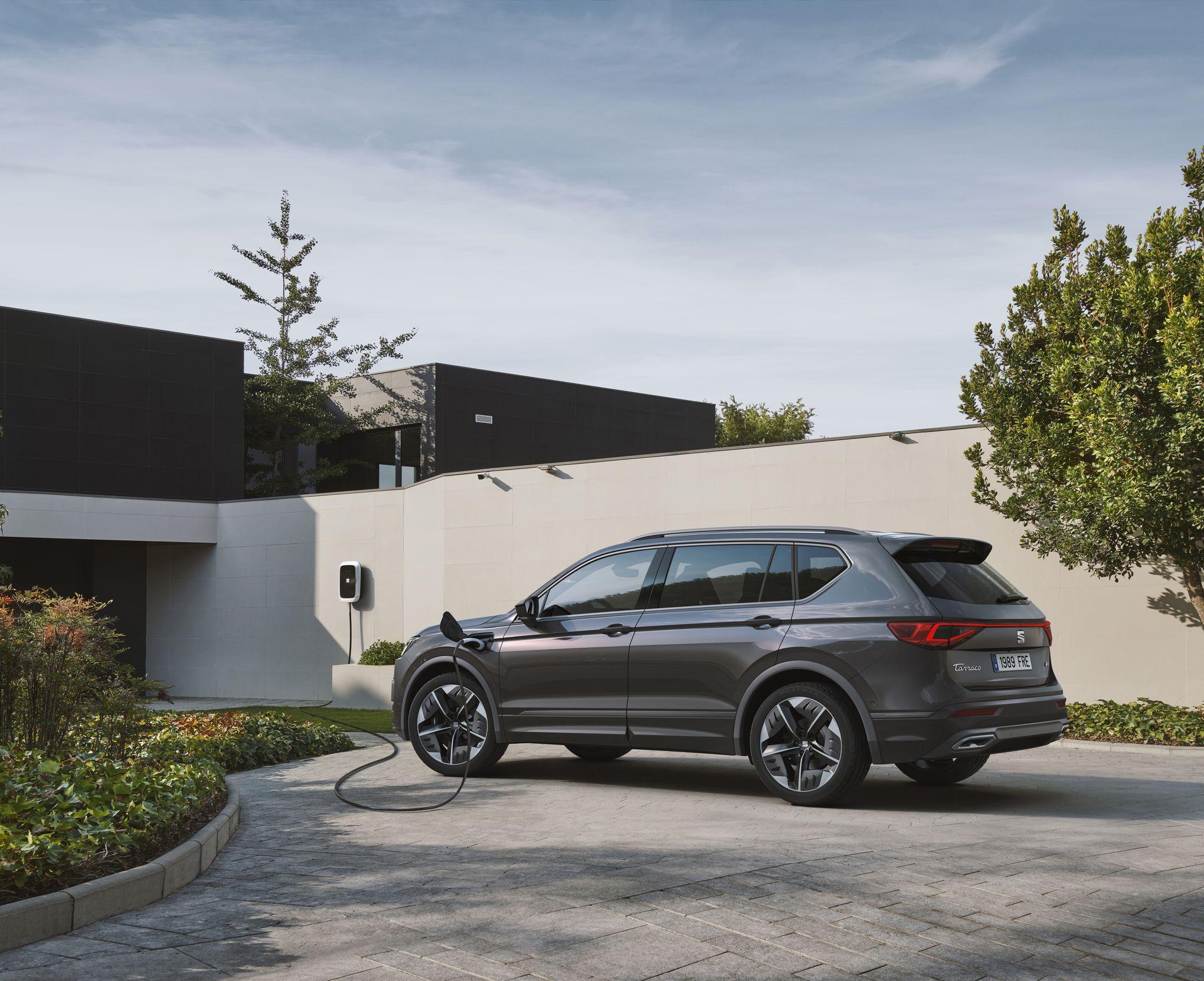 Seat Tarraco FR PHEV, un grand SUV hybride rechargeable
