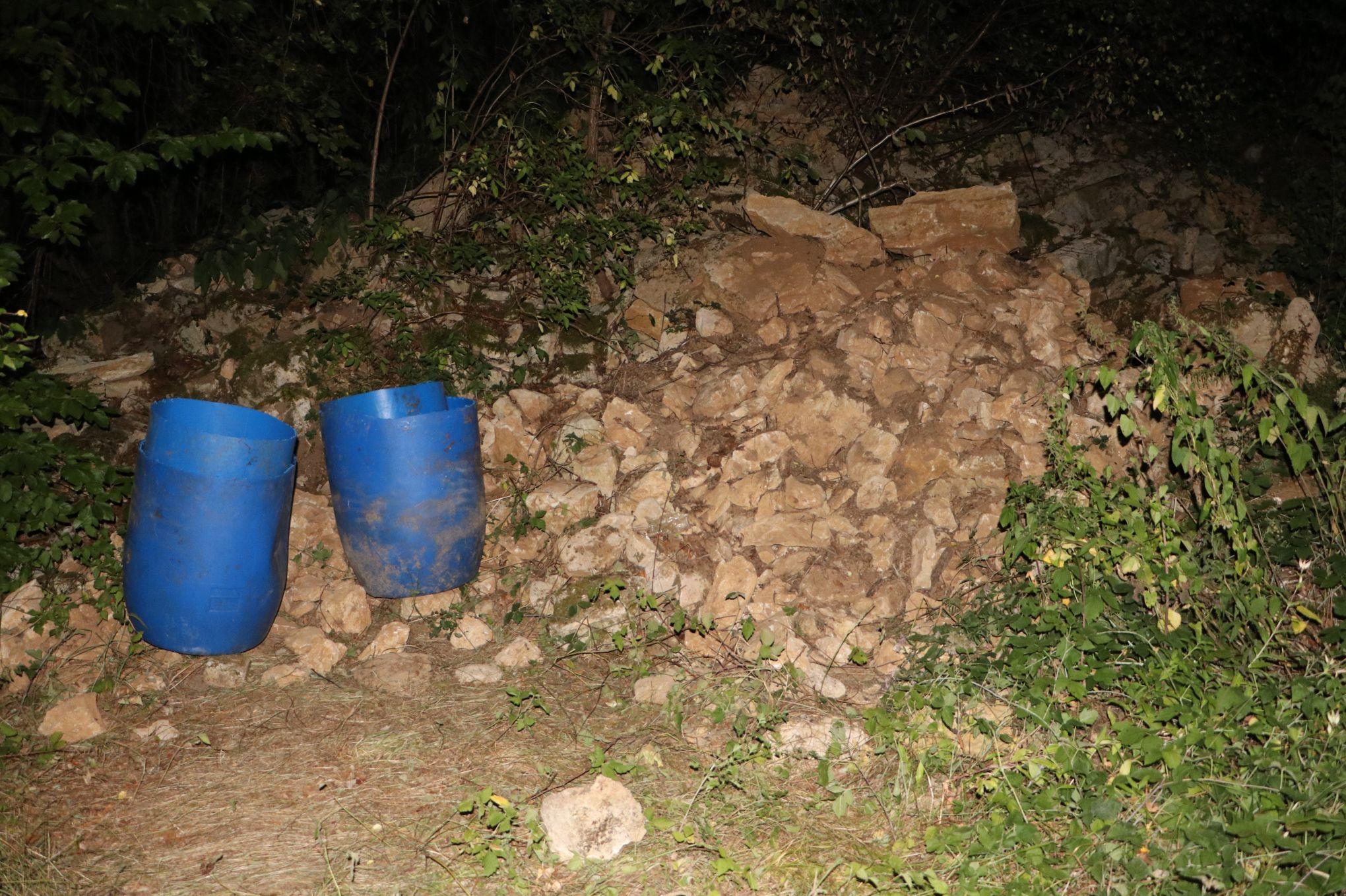Une cache d'armes de l'ETA retrouvée dans l'Yonne