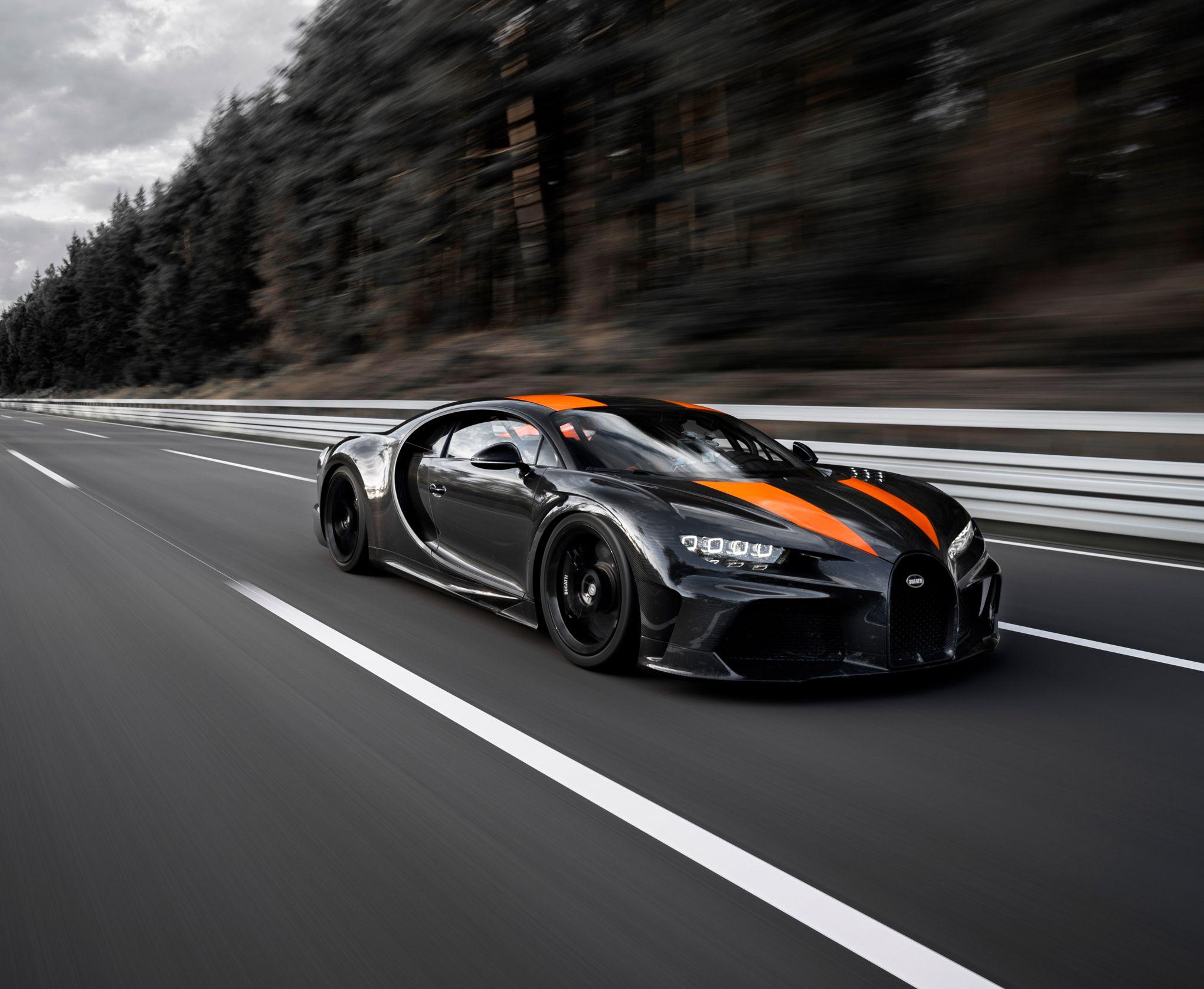 Bugatti Chiron, un record à 490 km/h