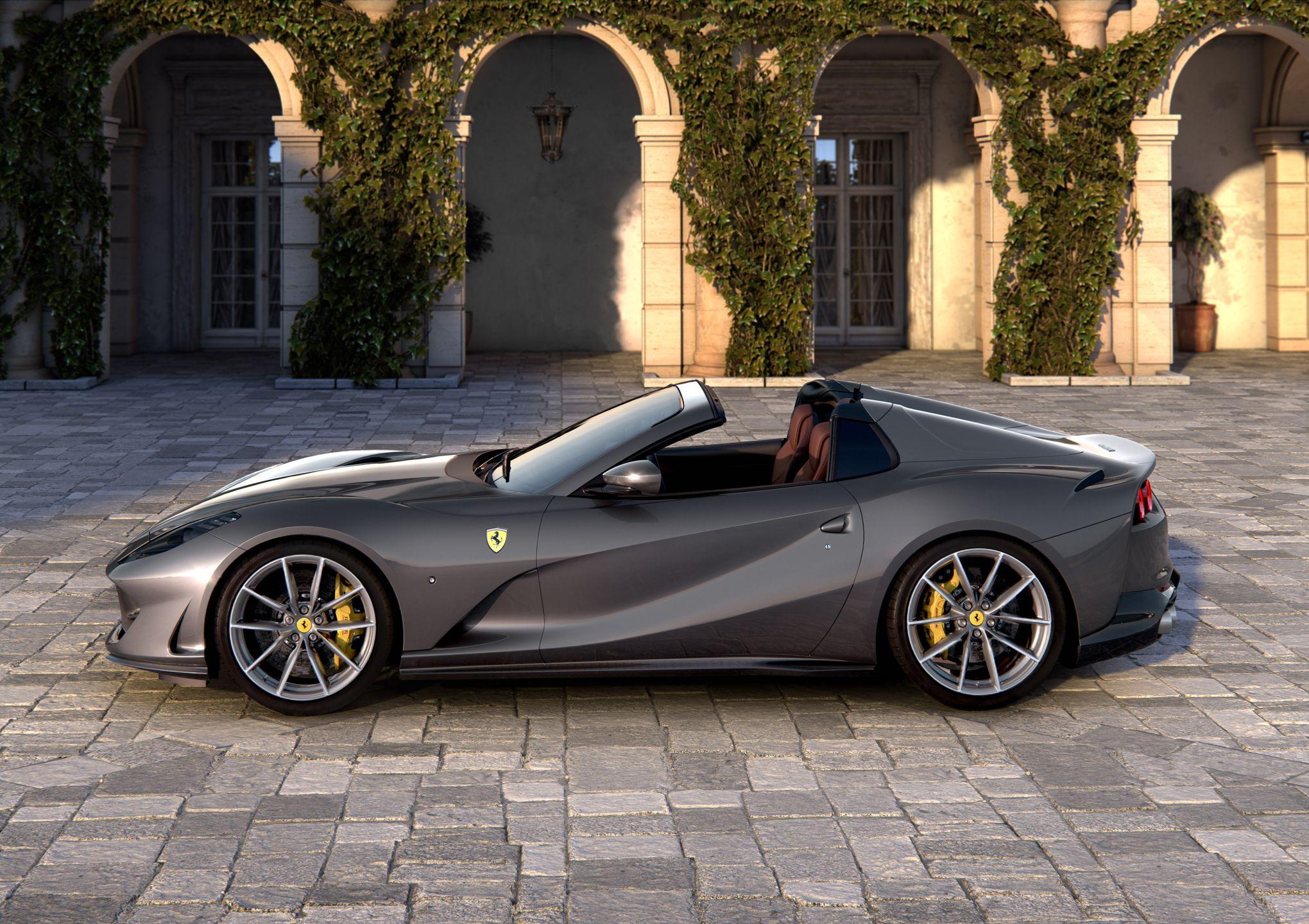 Ferrari 812 GTS, un spider 12 cylindres