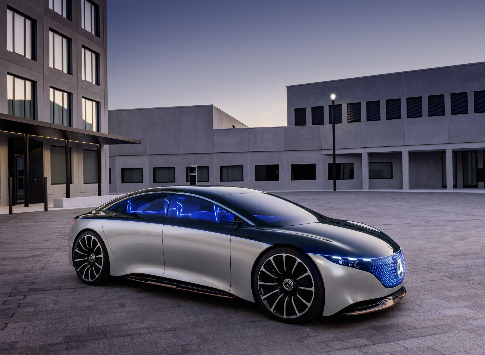 Mercedes EQS, un concept majestueux