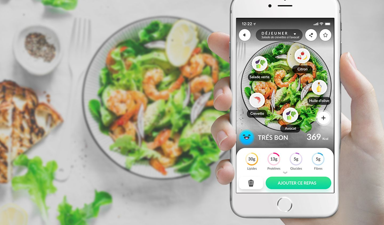 Foodvisor, le Shazam de la nutrition français, séduit l'Amérique