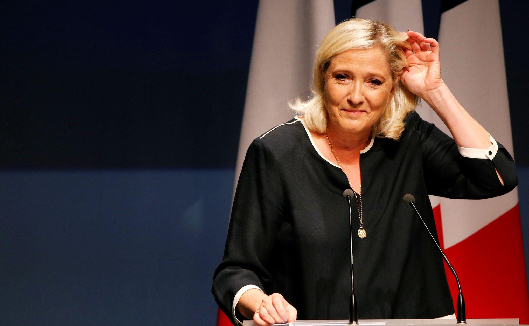 Le RN vise les élections locales, Marine Le Pen la présidentielle