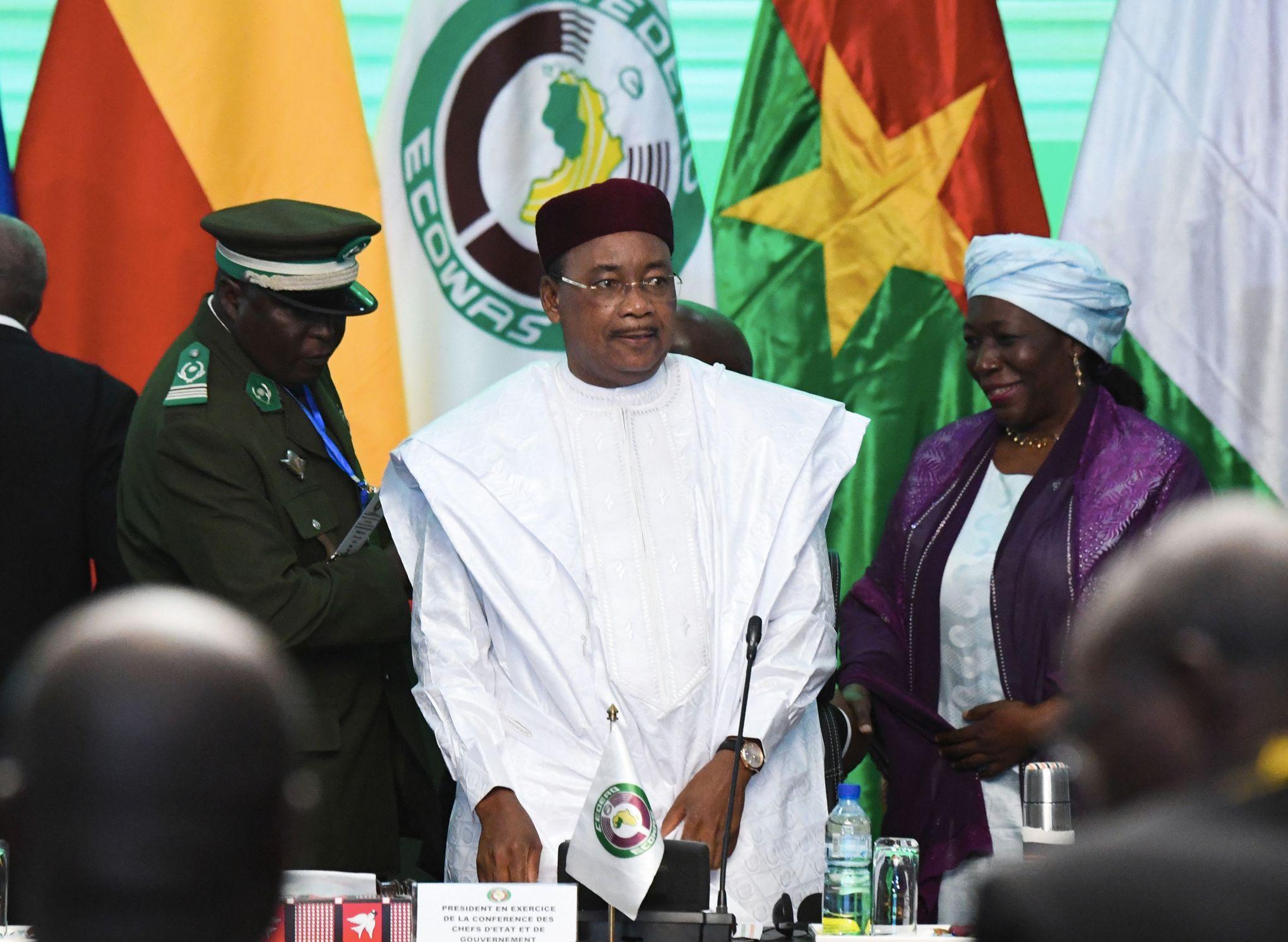 Mahamadou Issoufou: «La menace terroriste grandit au Sahel»