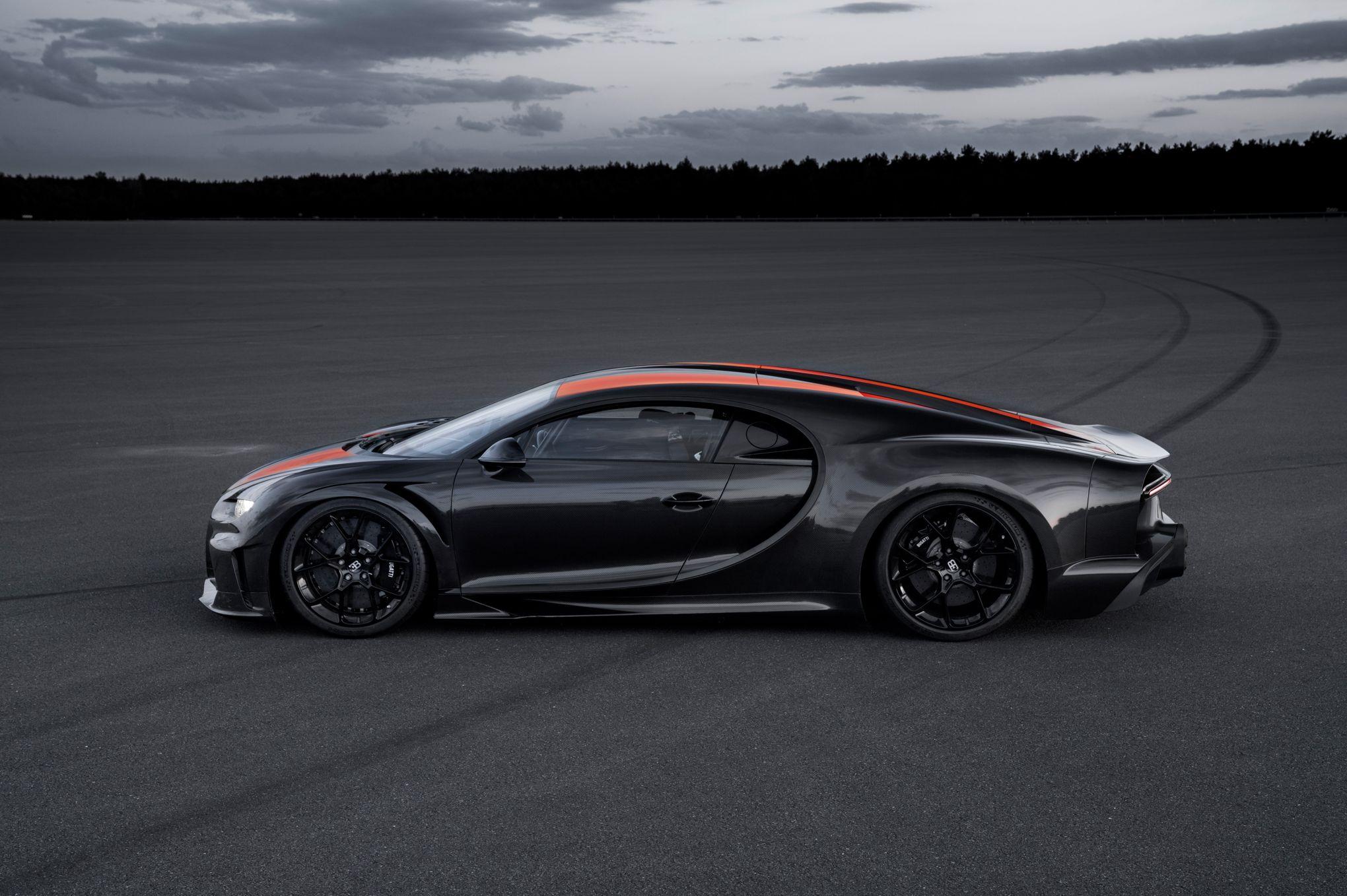 Bugatti Chiron Super Sport 300+, une enfant du record
