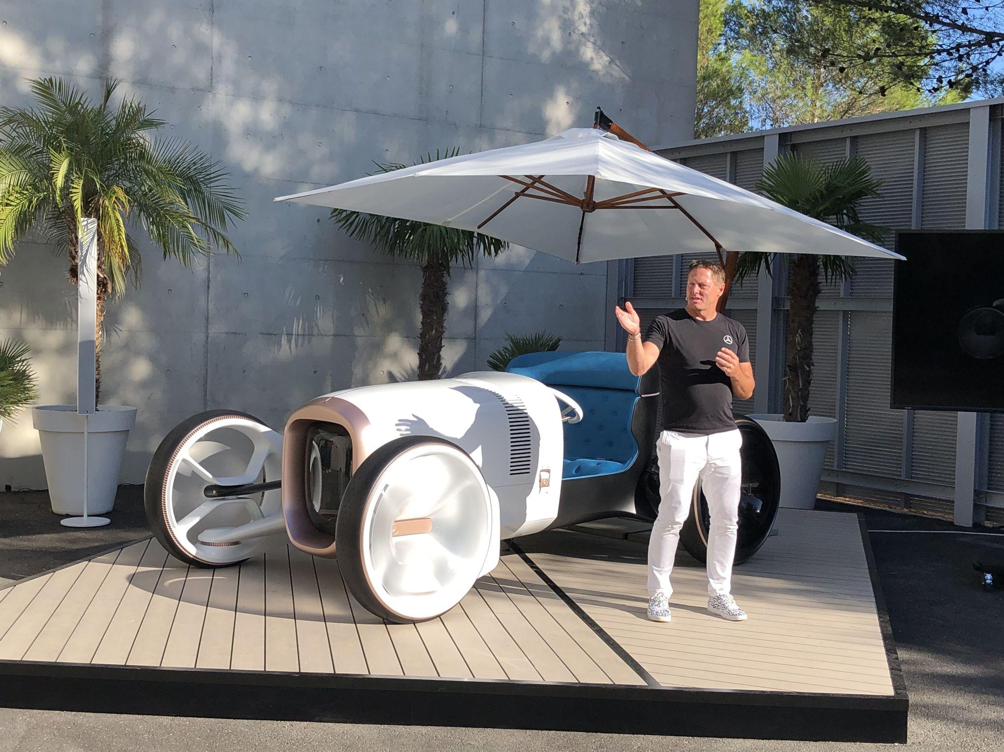 Mercedes Vision Simplex, le passé recomposé