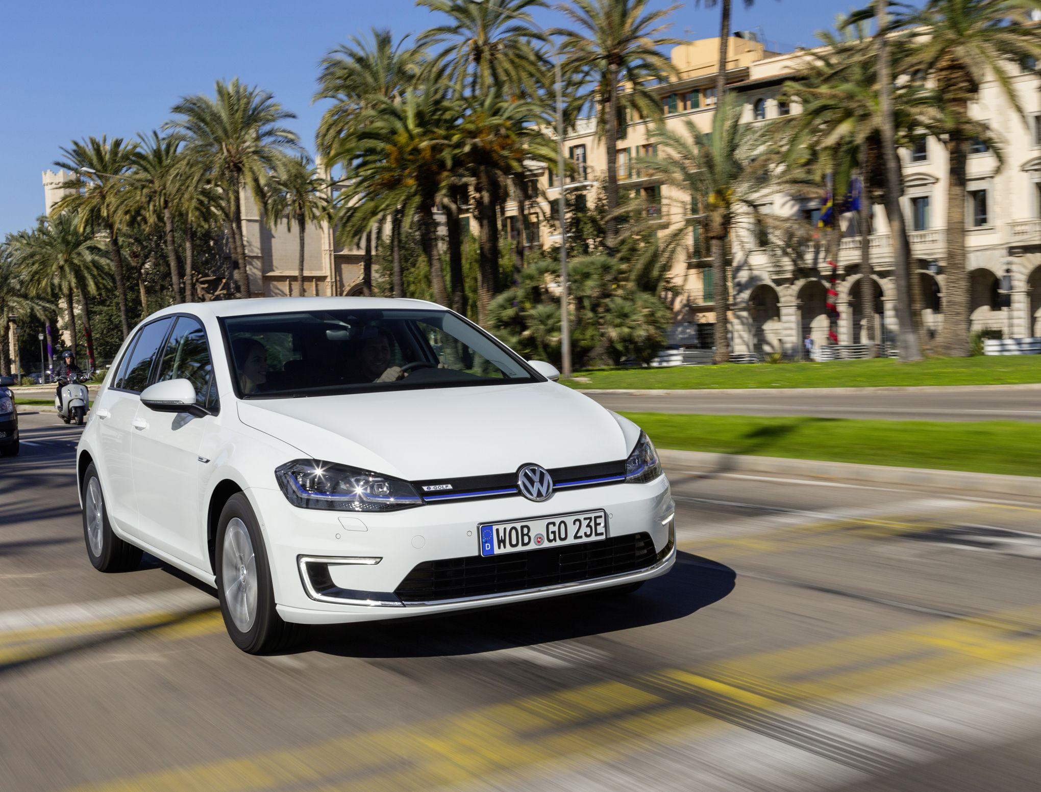 Volkswagen e-Golf, l'électrique moins cher que le diesel