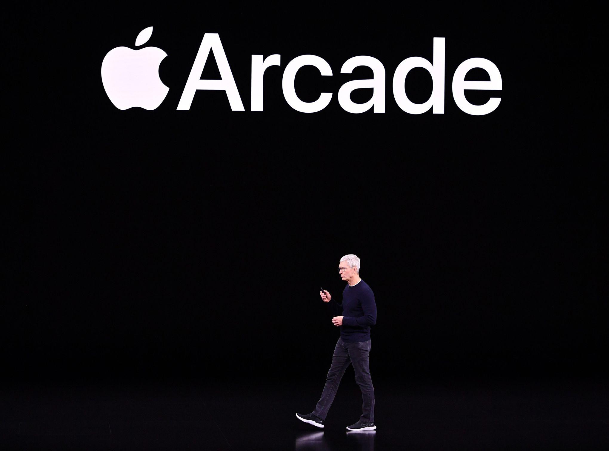 Apple lance Arcade,son service de jeux vidéo