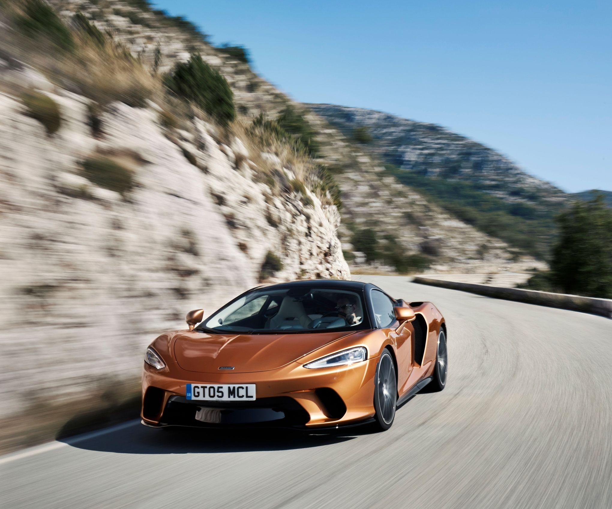 McLaren GT, changement de registre