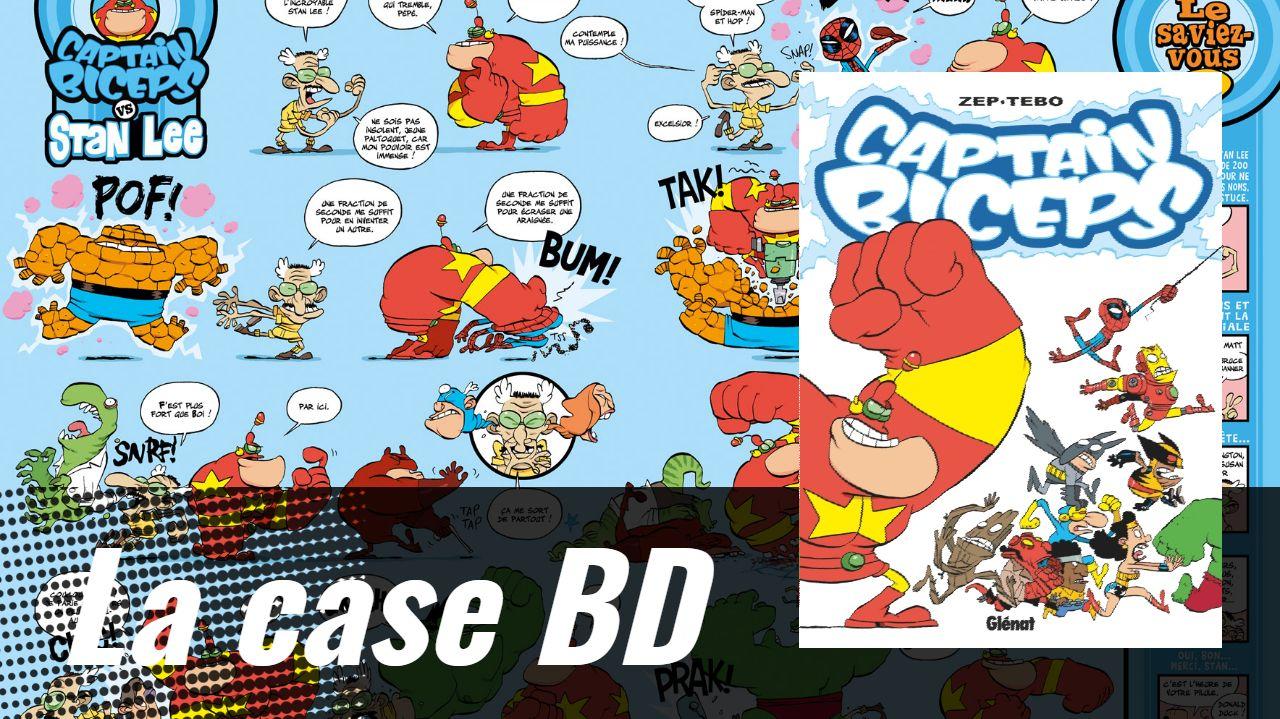 La Case BD: Captain Biceps, le comics français qui a du punch