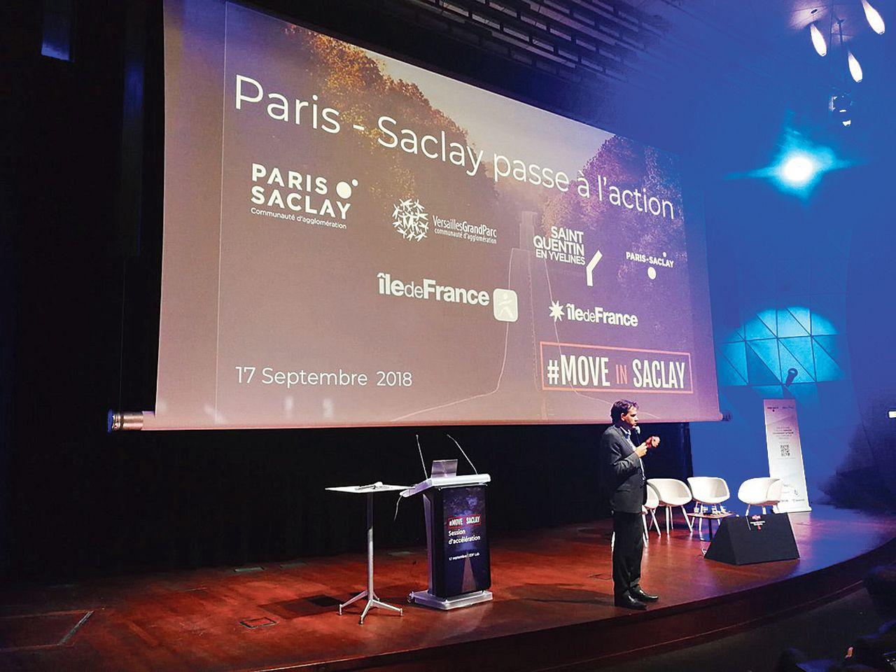 Paris-Saclay mise surune application pour réduire sa congestion automobile