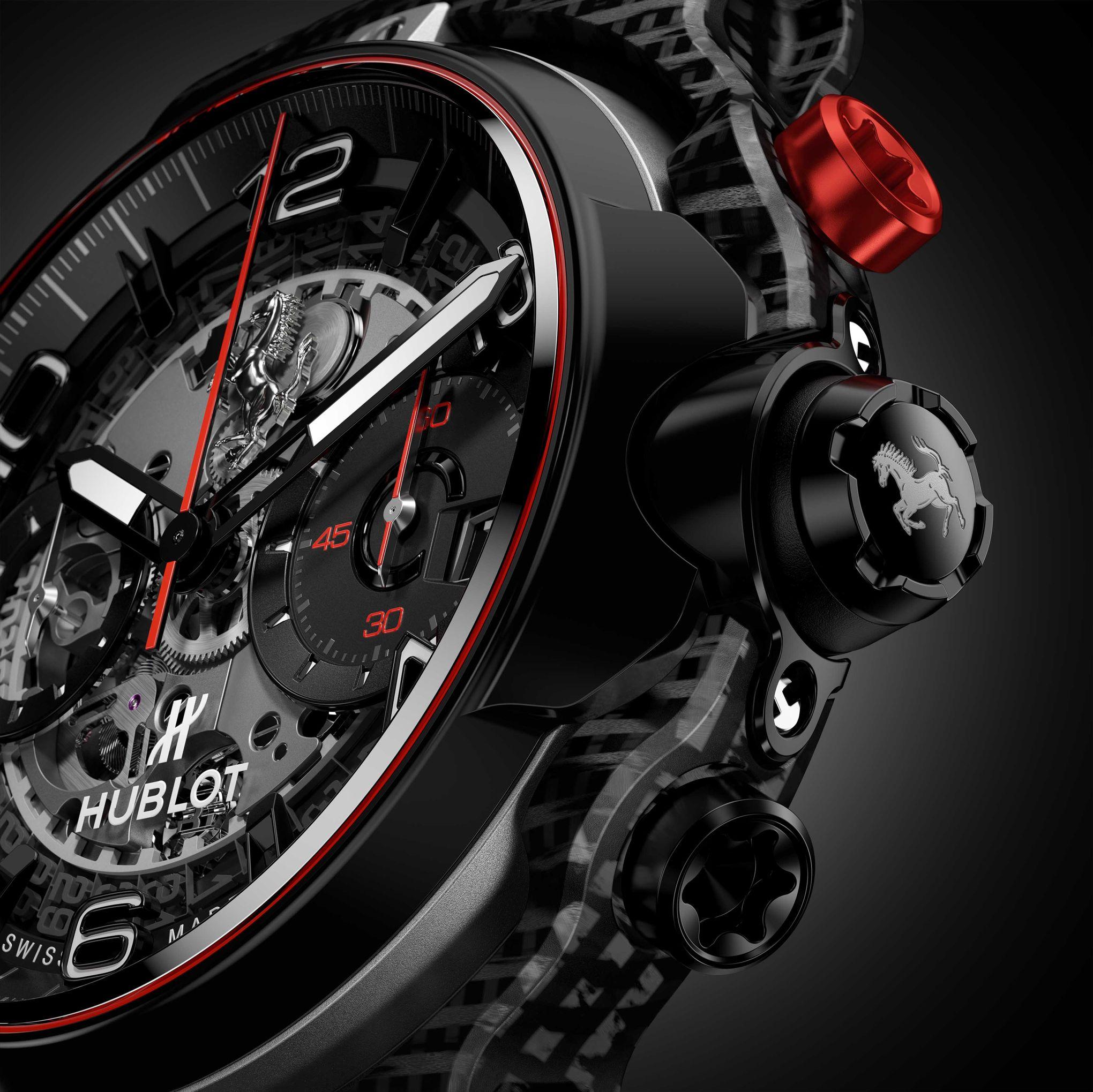 Classic Fusion Ferrari GT, une montre bien carrossée