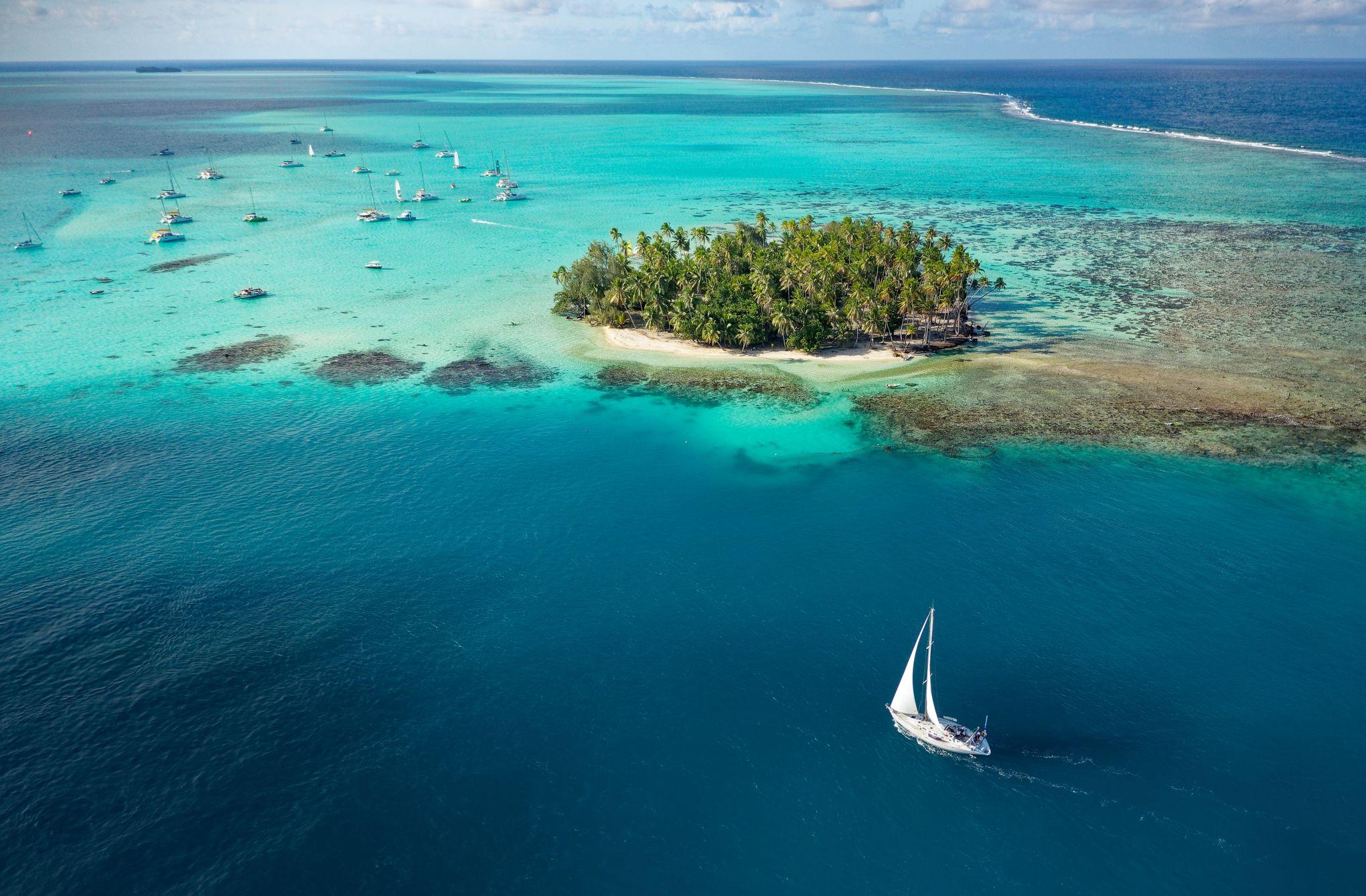 En Polynésie, des aventures au fil du vent