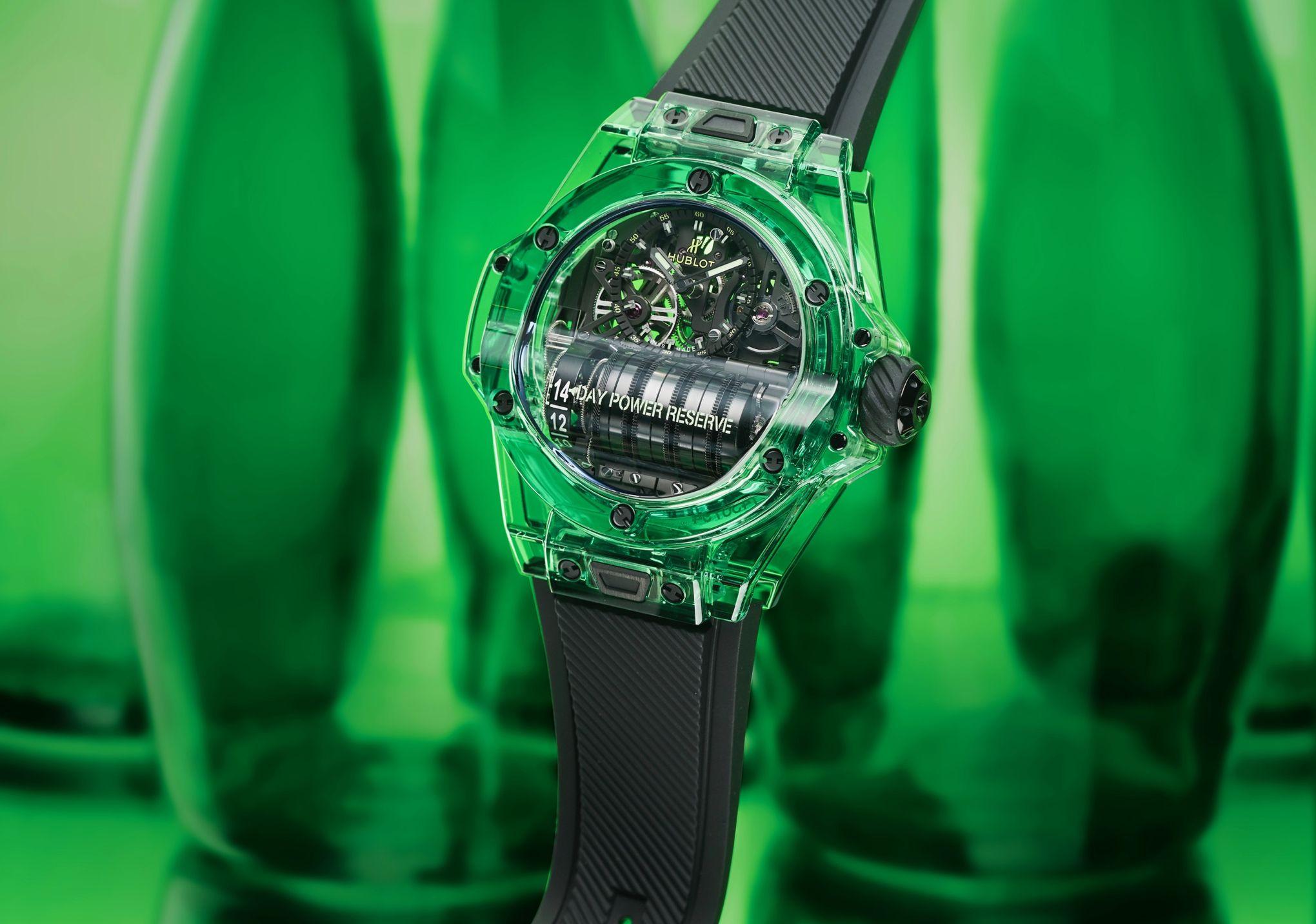 Les belles montres s'exhibent sous le soleil de Mexico